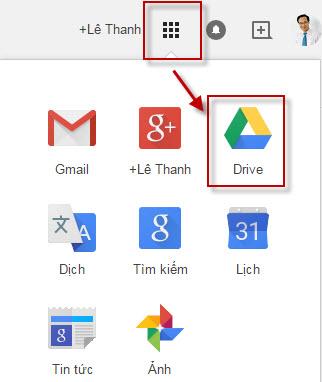 Các ứng dụng của Google