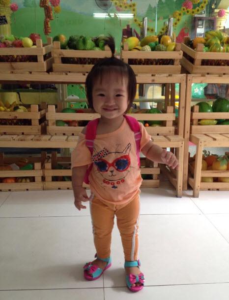 Công chúa Mì Gói đi học ngày đầu tiên