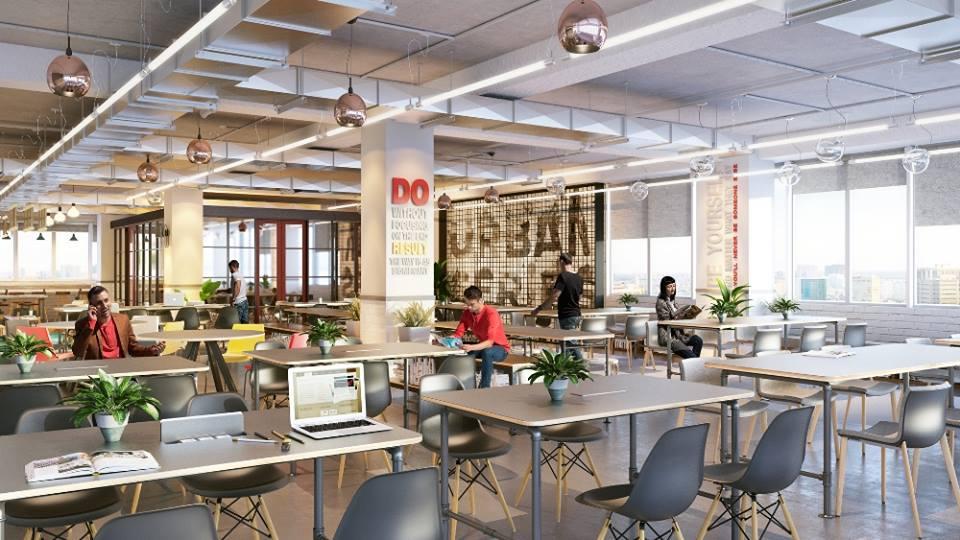 Dreamplex - Mô hình văn phòng cho khởi nghiệp