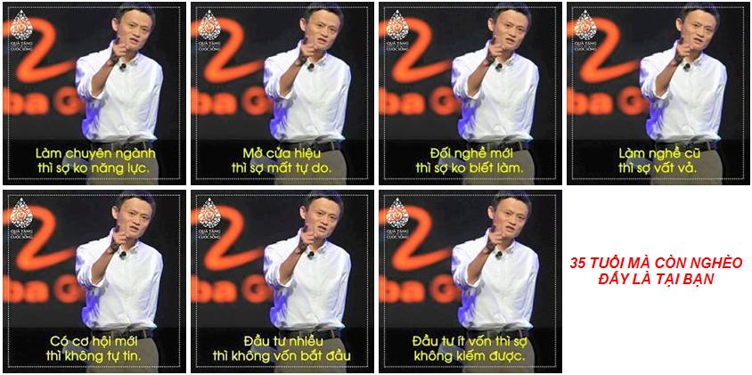 Jack Ma chửi người bảo thủ