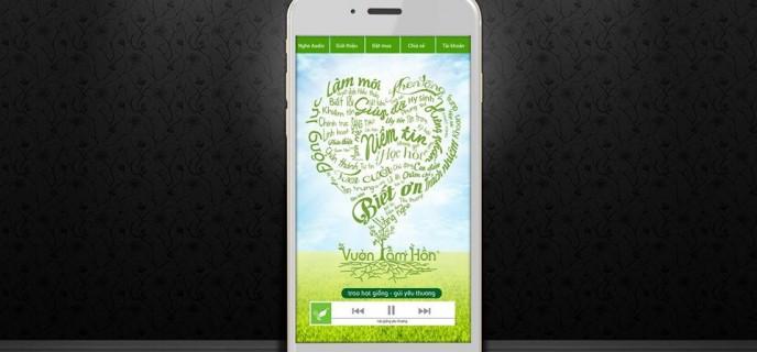 Vườn tâm hồn - Ứng dụng dạy con trên smartphone