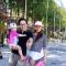 Gia đình Lê Thanh Trông tại Suối Nhum 2016