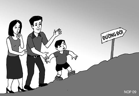 Giáo dục con cái đúng cách trên đường đời
