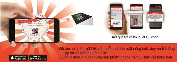 Chống giả hàng hóa với ứng dụng felixvn trên smartphone