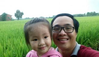 Cha con hai lúa Lê Thanh Trông