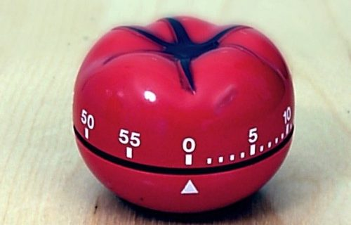 Phương pháp tập trung làm việc với pomodoro