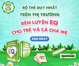 Bộ thẻ nâng cao chỉ số EQ dành cho trẻ và cha mẹ
