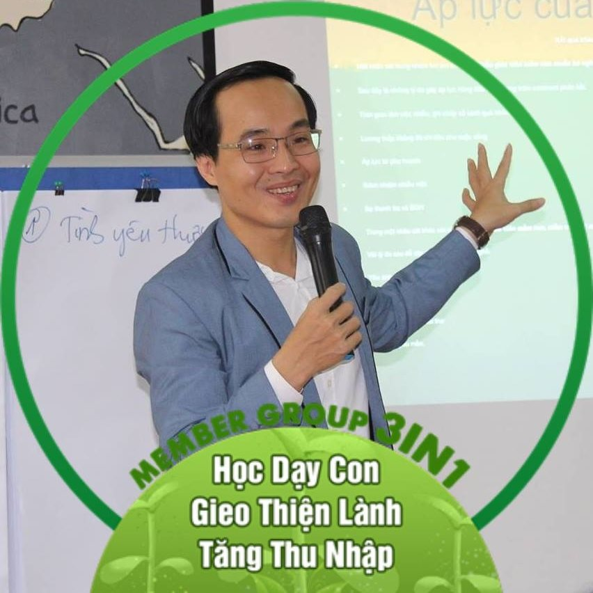 Thầy Lê Thanh Trông đồng hành cùng Group 3in1